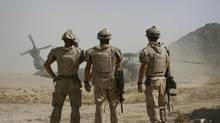 Canadian soldiers in Kandahar – we must decide what remains after 2011. (FINBARR O'REILLY)