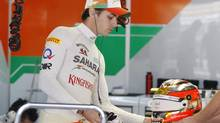 Former Force India reserve driver Jules Bianchi of France (Dita Alangkara/The Associated Press)