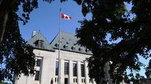 The Supreme Court of Canada in Ottawa. (Sean Kilpatrick/THE CANADIAN PRESS)