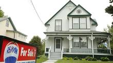 A house for sale in Bridgetown, N.S. (PAUL DARROW For The Globe and Mail)