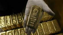 A bar of gold (ARND WIEGMANN/REUTERS)