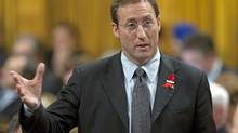 Defence Minister Peter MacKay responds during Question Period in the House of Commons on Tuesday, December 1, 2009. (Adrian Wyld)