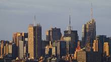 The skyline of midtown Manhattan is seen in this file photo. (Gary Hershorn/Reuters)