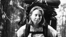 Cheryl Strayed on the trail (Handout)