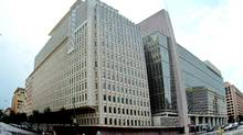 The headquarters of the World Bank in Washington. (LAUREN BURKE/AP/LAUREN BURKE/AP)