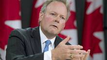 Governor of the Bank of Canada, Stephen Poloz speaks with media during a news conference Thursday June 12, 2014 in Ottawa. THE CANADIAN PRESS/Adrian Wyld (Adrian Wyld/THE CANADIAN PRESS)