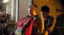 Lena Dunham and Adam Driver's characters have an eye-widening relationship in HBO's Girls. (Handout/HBO)