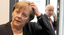 German Chancellor Angela Merkel. (WOLFGANG KUMM/AFP/Getty Images)
