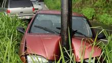 Car accident. (GETTY IMAGES)