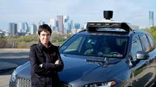 Raquel Urtasun, an expert in artificial intelligence, is seen in Toronto on Friday, April 28, 2017. (THE CANADIAN PRESS)