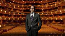 Canadian Opera Company director Alexander Neef is photographed at the Four Seasons Centre for the Performing Arts July 19, 2012 in Toronto. (Moe Doiron/The Globe and Mail)