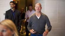 Lululemon Athletica Inc's founder Chip Wilson, the company's biggest shareholder, lashed out at the yogawear retailer's board on Wednesday, saying he had voted against keeping the company's new chairman and another director in their jobs because they are too focused on short-term growth. (BEN NELMS/REUTERS)