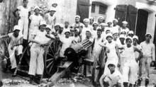 U.S. forces in Haiti, 1915.