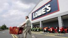 Lowe's is offering $205-million (U.S.) for the assets of Orchard Supply Hardware Stores. (CHUCK BURTON/AP)