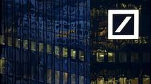 On Monday, Deutsche Bank's shares had the dubious distinction of hitting their lowest level since 1992. (Reuters)