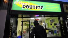 Exteriors of Pierre's Poutine in Guelph, on February 28 2012. The phone that was used to place robocalls to Guelph residents was registered to Pierre's Poutine (although there was also a Pierre's Poutine in Quebec as well). (Fred Lum/The Globe and Mail) (Fred Lum/The Globe and Mail/Fred Lum/The Globe and Mail)
