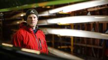 Canadian Olympic gold medal rower Adam Kreek, is one of four rowers whowill set out next month on a 60 to 100 day voyage across the Atlantic from Dakar, Senegal to Miami. They'll row 24 hours a day in two-hour shifts. (Chad Hipolito For The Globe and Mail)