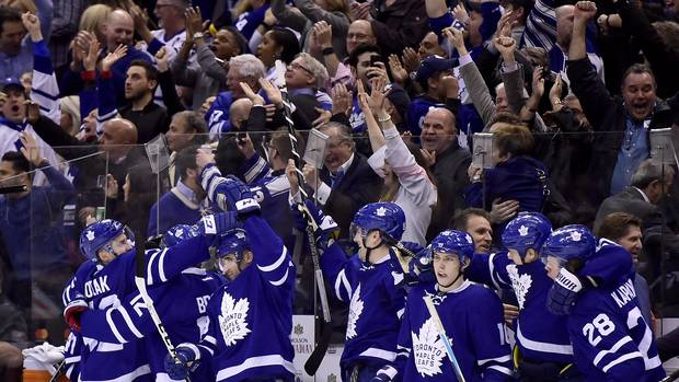 With Playoffs Clinched, Toronto Maple Leafs Arrive Somewhere Special Way Head Of Schedule