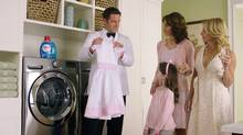 Persil ProClean created a character for its ads called 'The Professional,' a James Bond type who tackles laundry emergencies with panache. (Screengrab)