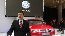 VW Canada CEO John White is taking over the Australian subsidiary in April. (Fernando Morales/The Globe and Mail)