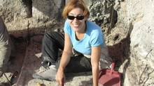 A team of international researchers led by the University of Victoria's April Nowell has discovered 250,000-year-old protein residue – the oldest ever found – extracted from stone tools used by early humans. The finding, from Azraq, Jordan, has led to direct evidence that humans from this period were pursuing specific animals in an attempt to survive. (James Pokines)