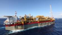 The Usan floating oil rig, in which Nexen is a partner, can handle 180,000 barrels of oil a day. (Nexen Inc.)