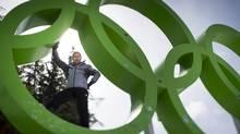 Former World Cup and Olympic downhill ski racer Steve Podborski in Whistler April 14, 2013. (John Lehmann/The Globe and Mail)