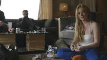 In the miniseries Lindsay, Lindsay Lohan talks about sometimes feeling like a prisoner unable to leave her hotel room because of paparazzi. (Oprah Winfrey Network)