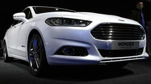 A new Hybrid Electric Ford Mondeo at the Paris auto show