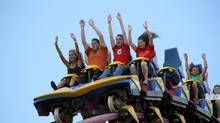 In recent months, theme park stocks have been a hot ticket to profits. (Joey Ray/Six Flags Great Adventure)