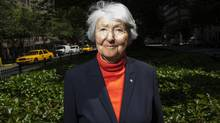 Cornelia Hahn Oberlander, 92, in New York. Over her decades-long career, Hahn Oberlander has overseen some of the most important postwar landscaping projects in North America. (Eric Thayer)