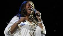 Aretha Franklin performs at Radio City Music Hall in New York on Feb. 17, 2012. (SHANNON STAPLETON/REUTERS)
