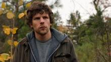 """Jesse Eisenberg is pictured in a scene from """"Night Moves."""" An eco-terrorist's deep-rooted personal troubles are at the heart of Jesse Eisenberg's latest film, """"Night Moves,"""" but don't go digging for any clues to the origins of his torment. (THE CANADIAN PRESS)"""