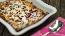 Cherry Clafoutis (for The Globe and Mail)