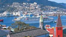 Nagasaki is one of Japan's most picturesque ports. (Japan National Tourism Organization)