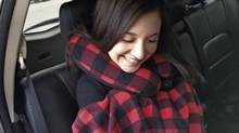 Auto Trends Plaid Comfort Kit. (Joanne Elves/The Globe and Mail)