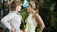 The missing video: Monster-in-Law, starring Jennifer Lopez, right, and Jane Fonda. (Melissa Moseley/New Line Cinema/Associated Press)