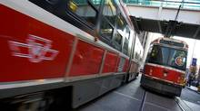 TTC chair Karen Stintz is due to unveil a $30-billion, 30-year proposal that would mean a significant property-tax increase to pay for expansions to the public transit system. (Peter Power/THE GLOBE AND MAIL)