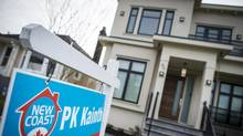 Speculators who profit from flipping houses don't pay property transfer taxes. (John Lehmann/The Globe and Mail)