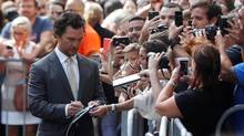 Actor Matthew McConaughey arrives on the red carpet for the film Sing during the Toronto International Film Festival in Toronto on Sept. 11, 2016. (MARK BLINCH/REUTERS)