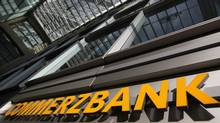 Commerzbank headquarters in Frankfurt (ALEX DOMANSKI/REUTERS)