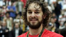 Gasol is leaving the L.A. Lakers to join the Chicago Bulls, as announced on his verified Twitter account. (Dusan Vranic/Associated Press)