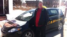 Larry Parsons is the owner of Sackville Cab (Nauman Farooqi)