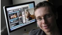ORONTO.MAR.5.2008Twenty two year old Robert Ostfield is the co-ceo of AndPOP.com, an online entertainment news site. He's the subject of an Incubator piece.PHOTO BY FRED LUM/THE GLOBE AND MAILDIGITAL IMAGEStory details: For Rob Ostfield, giving a young online audience something cool, relevant and stimulating was the easy part. After all, heês part of that audience. Mr. Ostfield, just 22 years old, sits on the board of directors at Andpop.com, Canadaês most read privately held entertainment site. Founded in 2000 by Ryerson students Adam Gonshor and Michael Levine, Andpop features celebrity interviews, film, game, music and technology reviews, blog entries and entertainment news, giving the web-savvy 13-to-34 demographic a one-stop shop for media scoops. (Fred Lum/FRED LUM/THE GLOBE AND MAIL)
