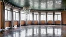 Untitled (Windows): Cohen's 194.3-by-232.4-cm photo of an abandoned Venice ballroom (2010). (NATIONAL BANK OF CANADA COLLECTION)