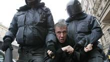 As tens of thousands of Russians take to the streets to protest against an allegedly rigged parliamentary election, investors are starting to wonder whether stabilnost is gone. (Dmitry Lovetsky/The Associated Press/Dmitry Lovetsky/The Associated Press)