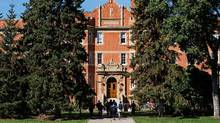 The University of Alberta campus is pictured in Edmonton, Alta., on Aug. 26, 2016. (CODIE MCLACHLAN/Codie McLachlan for the Globe an)