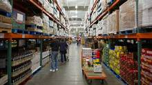 Customers browse products at a Costco store in San Francisco. (David Paul Morris/Bloomberg)