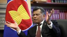 Surin Pitsuwan, ASEAN secretary-general, says Canada has room to expand ties with the 10-nation Asian organization. (Dave Chan for The Globe and Mail)