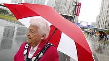 Mississauga Mayor Hazel McCallion. (Peter Power/The Globe and Mail)